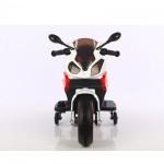 Ηλεκτροκίνητη μηχανή 6V σε κόκκινο - λευκό χρώμα 158768