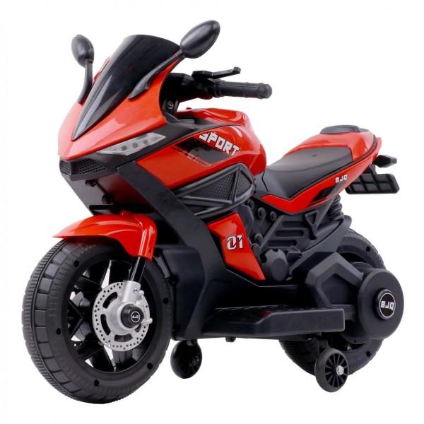 Ηλεκτροκίνητη Μηχανή 6V Motor Sport κόκκινη 3970011