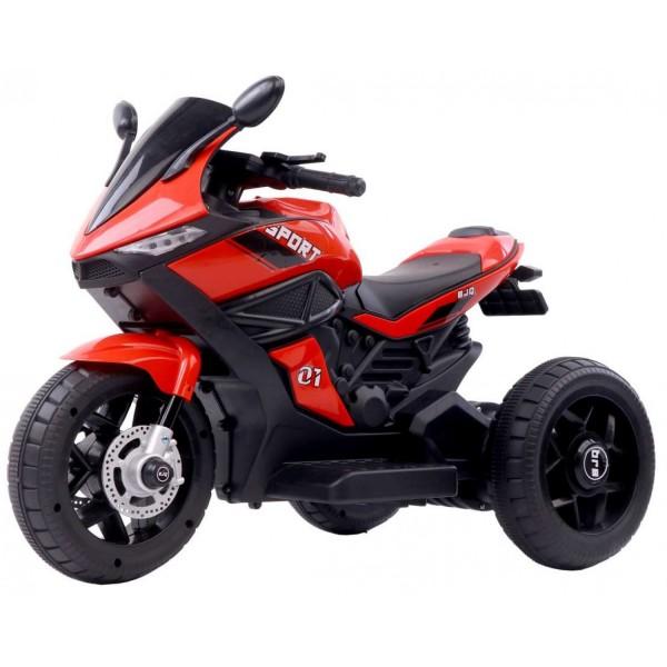 Ηλεκτροκίνητη Μηχανή 6V Motor Sport με τρεις τροχούς Κόκκινη 3970011-3