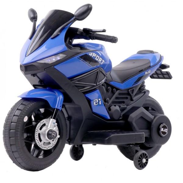 Ηλεκτροκίνητη Μηχανή 6V Motor Sport Μπλε 3970011