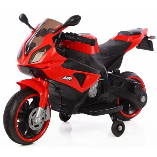 Ηλεκτροκίνητη μηχανή 6V σε Κόκκινο χρώμα 158768