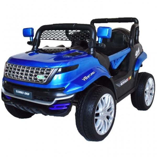 Ηλεκτροκίνητο Παιδικό Αυτοκίνητο Τύπου Land Rover 12V Μπλε 74528B