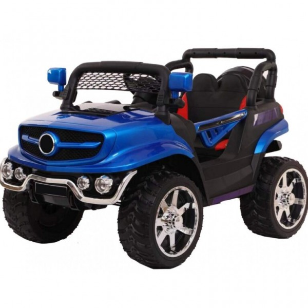 Ηλεκτροκίνητο Παιδικό Αυτοκίνητο Τύπου Mercedes Unimog 12V Μπλε 52164B